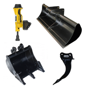 - BUCKETS, BREAKERS & ATTACHMENTS