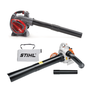 - LEAF VACUUMS, BLOWERS & MIST BLOWERS