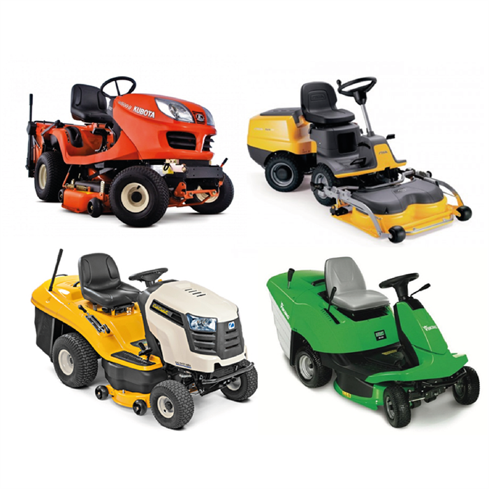 - RIDE-ON MOWERS
