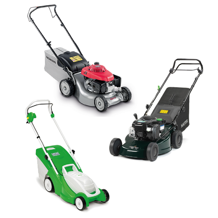 - WALK-BEHIND MOWERS
